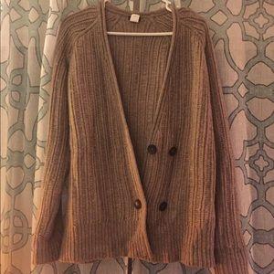 Wool JCrew Cardigan